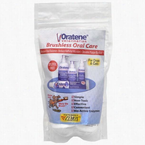 Oratene® Veterinarian Brushless Oral Care Starter Kit