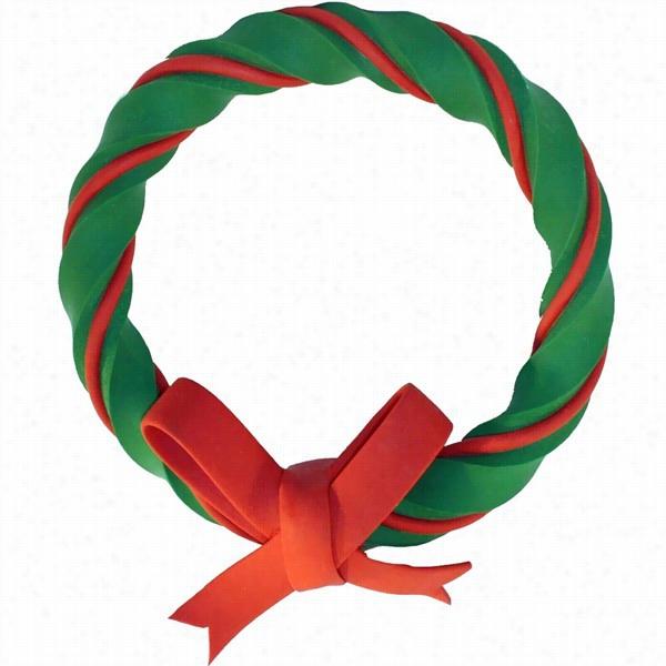 Multipet Gum Gum Latex Christmas Wreath