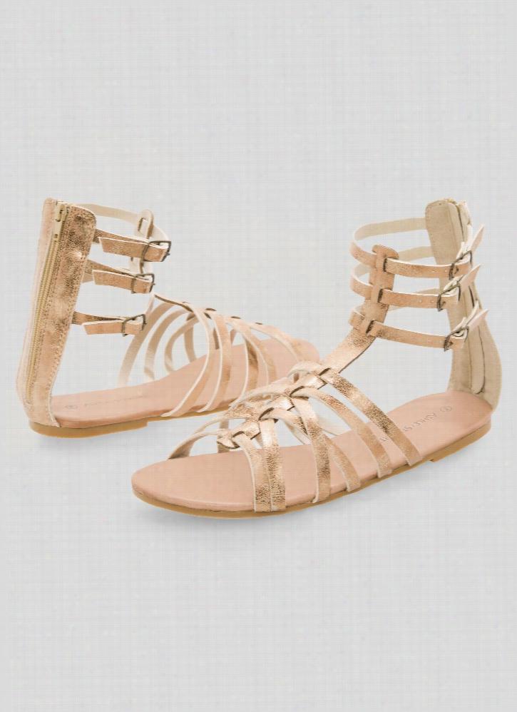 Flat Gladiator Sandal - Wide Width