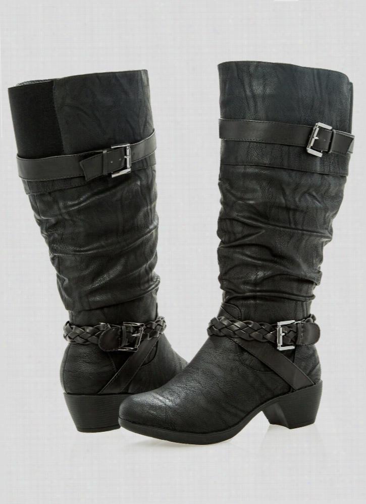 Roxy Tall Boot - Wide Width Wide Calf