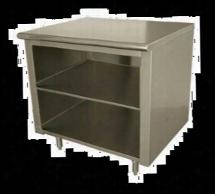 Advance Tabco Cabinet Base Work Table EB-SS-246M
