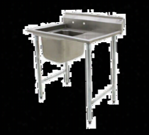 Eagle Free Standing Dish Sink 414-24-1-24R