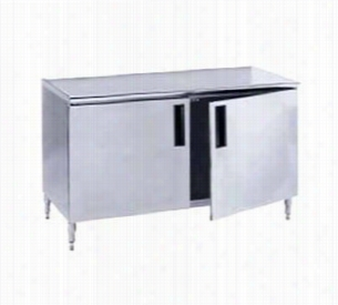 Advance Tabco Cabinet Base Work Table HB-SS-246