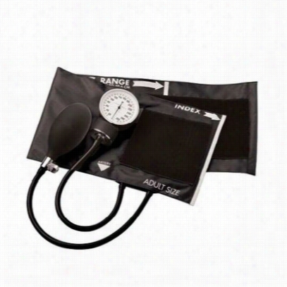 ADC Economical aneroid sphygmomanometer. - Black - OS