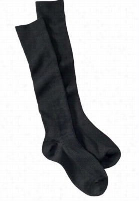 Beyond Scrubs 1-pack Full support socks. - Black - OS