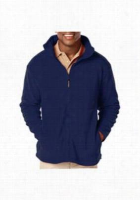 Blue Generation mens full zip fleece jacket. - Navy - 2X