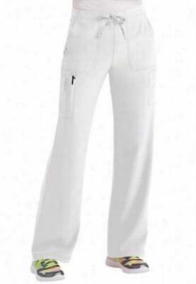 Carhartt CROSS-FLEX boot cut cargo pants. - White - TM