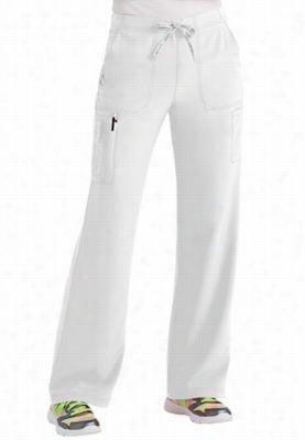 Carhartt CROSS-FLEX boot cut cargo pants. - White - TM
