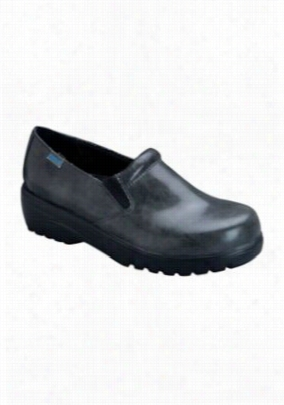 Cherokee Workwear Peacock slip on nursing shoe. - Grey Black Marble - 6