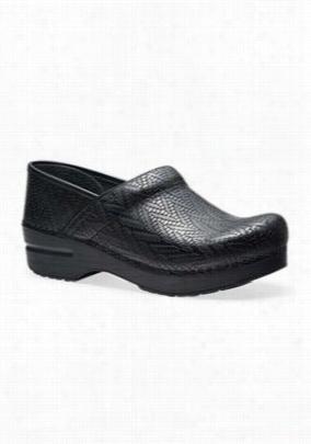 Dansko Professional Woven nursing shoe. - Black Woven - 36