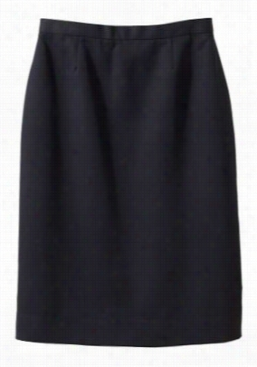 Edwards Garment women's microfiber skirt. - Black - 28W