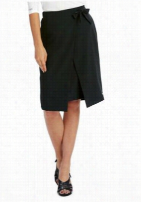 Greys Anatomy Signature 2-pocket tie front skirt. - Black - M