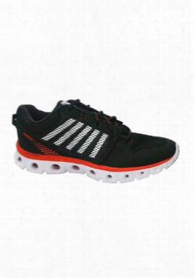 K-Swiss Comfort Series with memory foam mens athletic shoe. - Black - 9