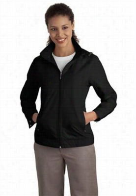 Ladies successor jacket. - Black - 4X