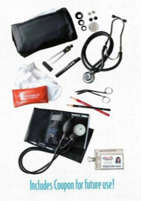 McCoy Medical Nursing kit with dissection tools. - MULTI - OS