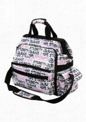 Nurse Mates Limited Edition Pink Ribbon print ultimate nursing bag. - Pink Ribbon - OS