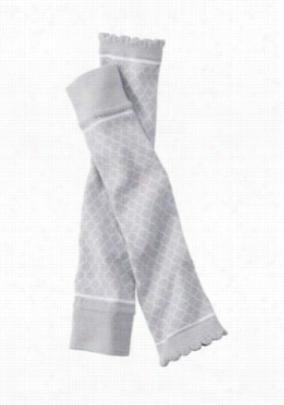 Prestige Medical nursing sleeves. - Soft Grey Trellis - OS