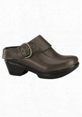 Sanita Sangria Nikita nursing clog shoe. - Grey - 36