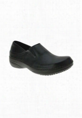 Spring Step Manila leather nursing shoe. - Black - 6