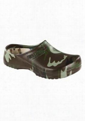 Birkenstock Professional Super Birki Green Camo shoe. - Green Camo - 37