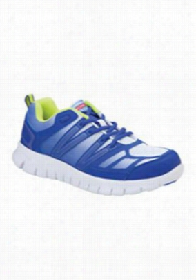 Cherokee Workwear Fred mens athletic shoe. - Royal Blue Fade - 9
