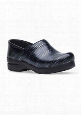 Dansko Professional Digital Stripe clogs. - Black patent - 42