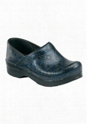 Dansko Professional Navy Medallion Nursing Shoe - Navy Medallion - 40