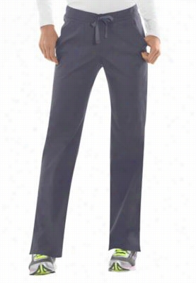 Dickies EDS Signature Stretch drawstring scrub pants with Certainty. - Pewter - M