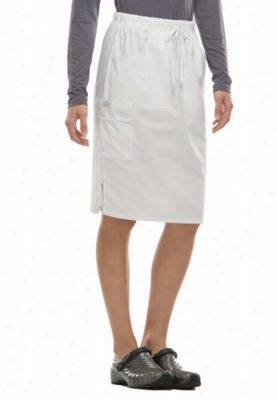Dickies EDS Signature women's skirt. - White - 2X