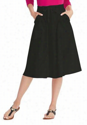 Greys Anatomy Signature 3-pocket A-Line skirt. - Black - S