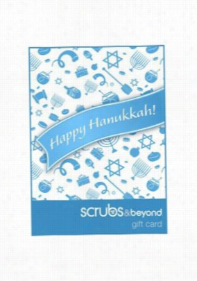 Happy Hanukkah Email Gift Card. - Novelty Prints -