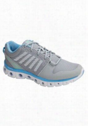 K-Swiss Comfort Series with memory foam athletic shoe. - Storm - 8