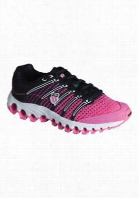 K-Swiss Tubesrun athletic shoe. - Neon Pink/black dot - 6
