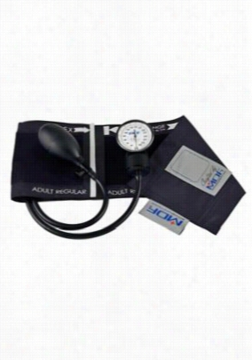 MDF Instruments aneroid sphygmomanometer. - Black/black - OS