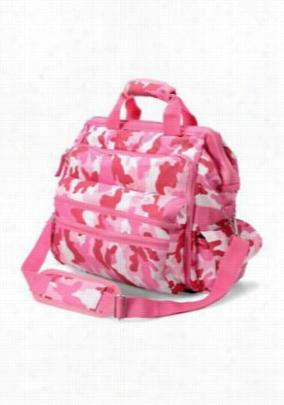 Nurse Mates Pink Ribbon Camo ultimate nursing bag. - Pink - OS