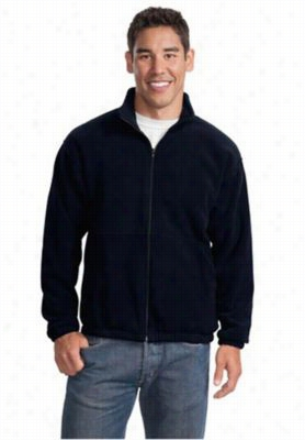Port Authority R-Tech mens fleece full zip jacket. - Navy - 2X