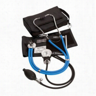 Prestige blood pressure/stethoscope kit. - Neon blue - OS
