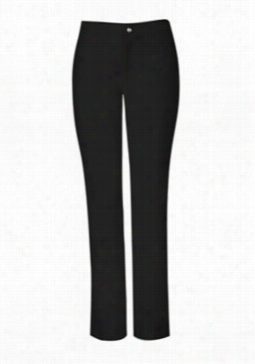 Sapphire zip fly scrub pants with Certainty. - Black Onyx - XL