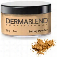 Dermablend Loose Setting Powder Warm Saffron 1 oz