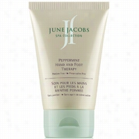 June Jacobs Peppermint Hand and Foot Therapy 4 oz
