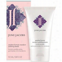 June Jacobs Sensitive Formula Mandarin Polishing Beads 3.8 oz