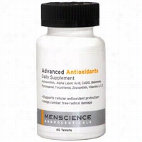 Menscience Advanced Antioxidants Daily Supplement 60 ct