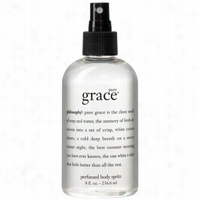 Philosophy Pure Grace Perfumed Body Spritz 8 oz