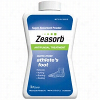 Stiefel Zeasorb Super Absorbent Antifungal Treatment For Athletes Foot 2.5 oz