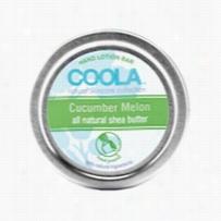 Coola Hand Lotion Bar Cucumber Melon 0.5 oz