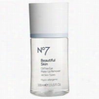 Boots No7 Beautiful Skin Oil Free Eye Makeup Remover 3.3oz