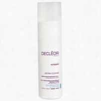 Decleor Aroma Cleanse 3 in 1 Hydra Radiance Smoothing and Cleansing Mousse 3.3 oz
