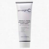 EmerginC Vitamin C Hemp Avocado and Argan Body Lotion 8.45 oz