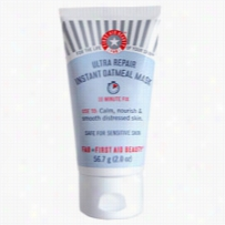 First Aid Beauty Ultra Repair Instant Oatmeal Mask 2 oz