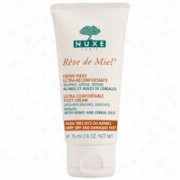 NUXE Reve de Miel Ultra Comfortable Foot Cream 2.54 oz